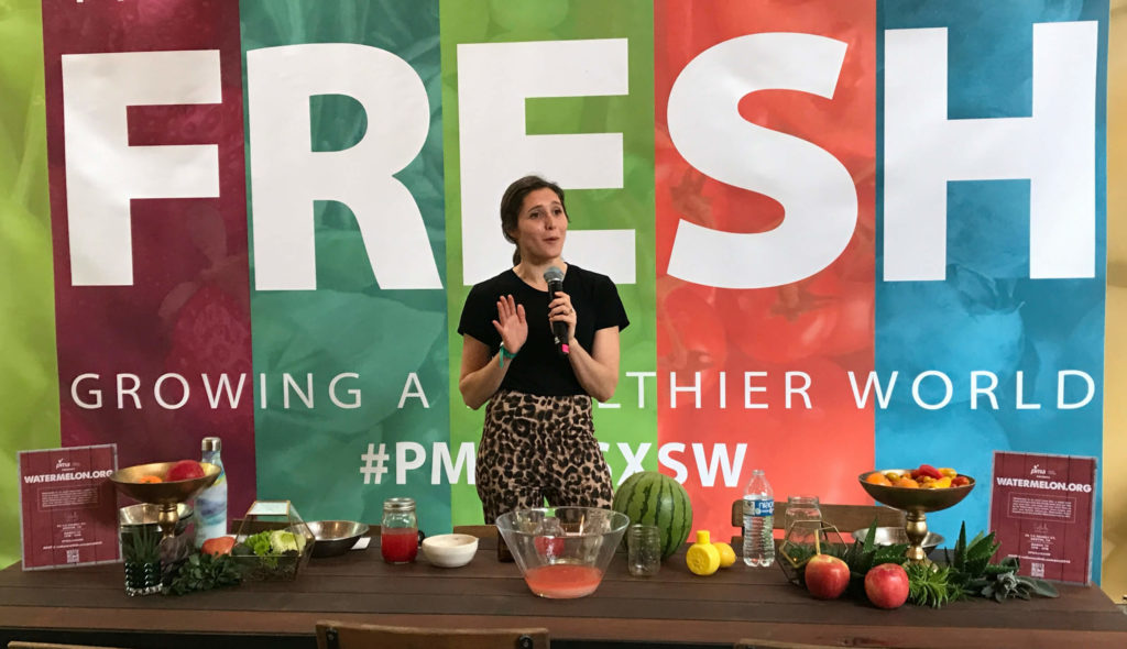 FLM Harvest and National Watermelon Promotion Board at SXSW